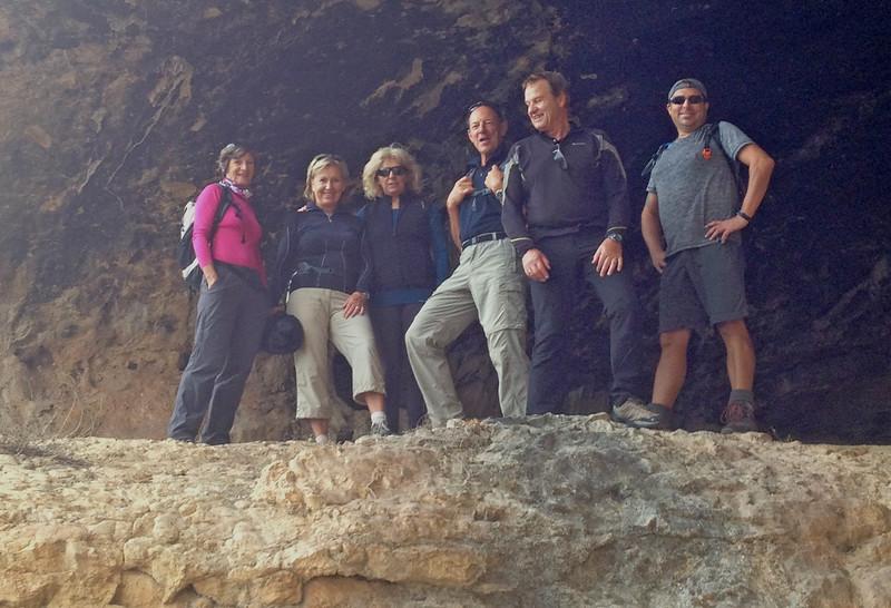 In the Cueva la Garganta near Tossal del Moro