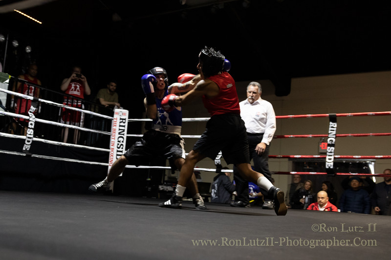 2019 White Collar Boxing Event - Bout 4