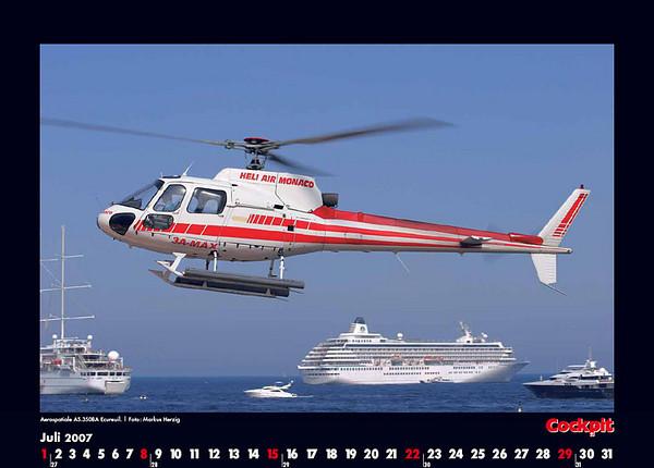 Cockpit Calendar – Rotorworld Jul 2007
