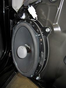 2011 Lexus CT200h Front Speaker Installation - USA