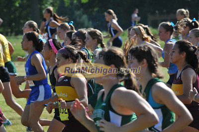 Gallery 1, JV Girls Race 2 - 2013 OU Golden Grizzly High School Invite