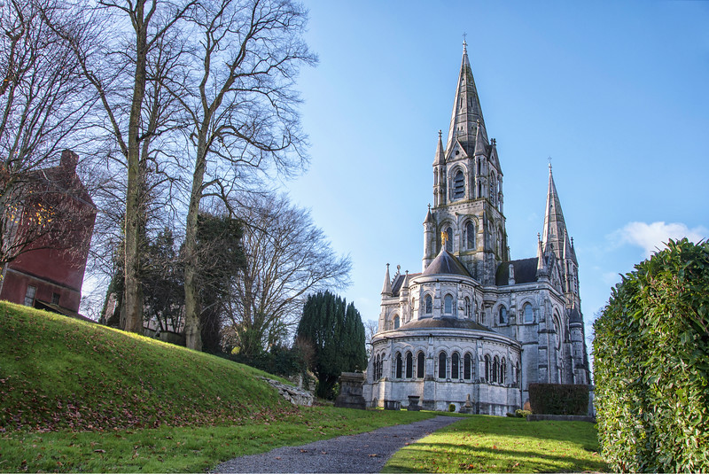 St Fin Barre's Cathedral in Cork Ireland