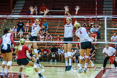 UW Sports - Volleyball - August 19, 2016