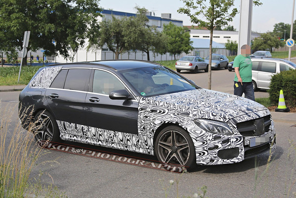 Mercedes C63 AMG Wagon Less-Disguised