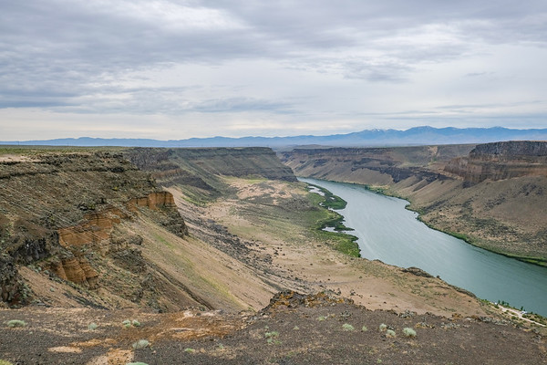 Twin Falls and Shoshone Falls