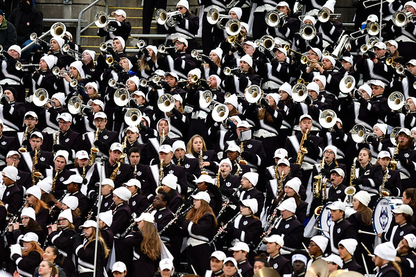 11/24/2018 Mike Orazzi   Staff The UConn Marching Band during Saturday's football at Rentschler Field in East Hartford with Temple.