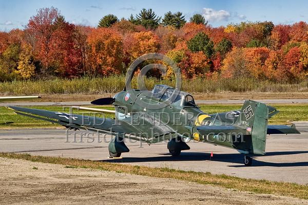 Ju-87 Stuka (Replica) - Minuteman Field, Stow Mass.