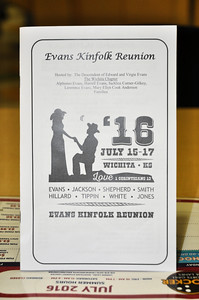 Evans Kinfolk Reunion July 15, 2016