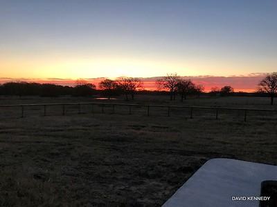 2018 12-29 Moon Set - Sun Rise by David