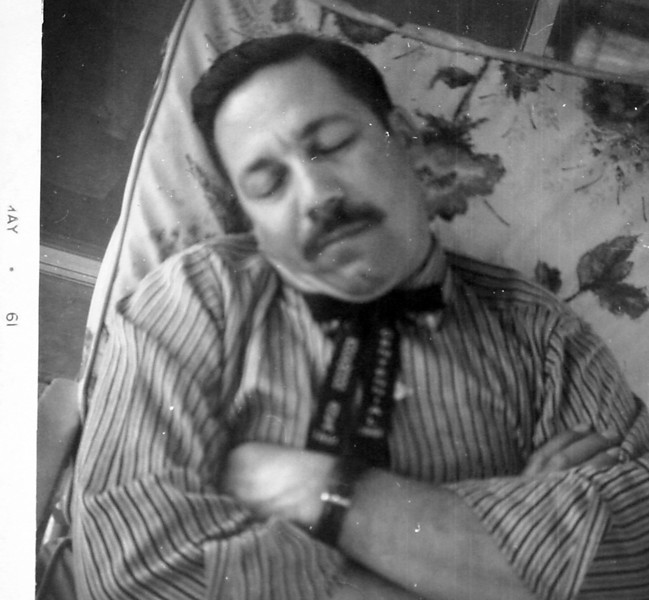 Uncle Bud taking one of his naps.JPG
