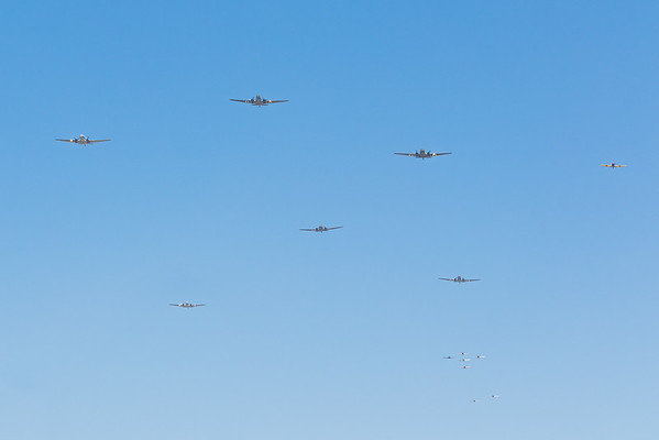 Commemorative Air Force Flyover 2020