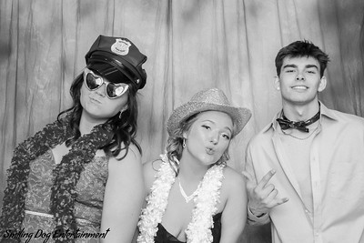 East Dubuque High School Prom Photo Booth Images