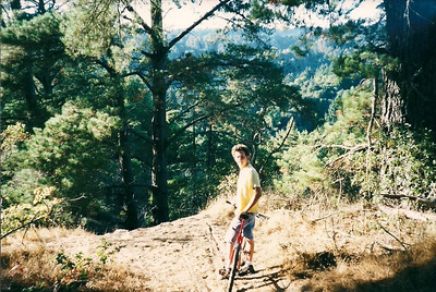 Old Santa Cruz Mountain Biking Days