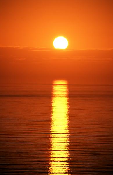 "Your Standard Pacific Ocean Sunset By Brett Downen  Float Mounted MetalPrint Available sizes: 4"" x 6"", 8"" x 12"", 16"" x 24"". 24"" x 36"""