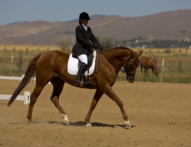 Dressage in the Sierra - August, 24 2007