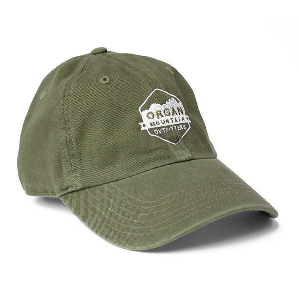 Outdoor Apparel - Organ Mountain Outfitters - Hat - Dad Cap Classic Logo - Military Green.jpg
