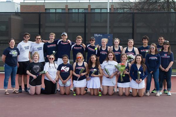 EHS Tennis vs Grandview 2018