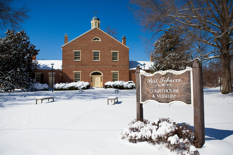 Port Tobacco Courthouse and Stagg Hall