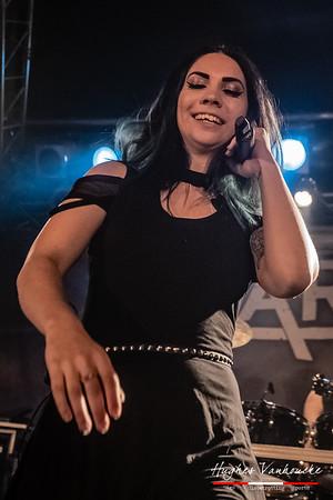 Skarlett Riot (ENG) @ Female Metal Voices Tour - Biebob - Vosselaar - Belgium/Bélgica