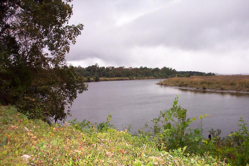 Ashley River behind the Middleton Inn