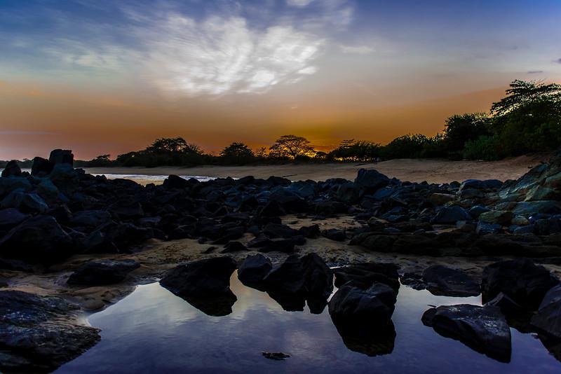 Playa la Garita - sunset