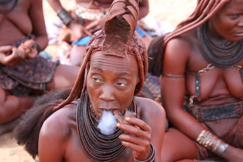 Himba head woman Crocodile