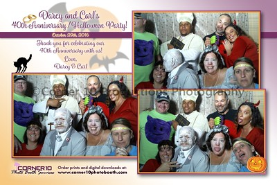 Darcy and Carl's 40th Anniversary / Halloween Party