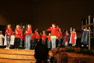 Courtney's Church Choir - Dec 2011