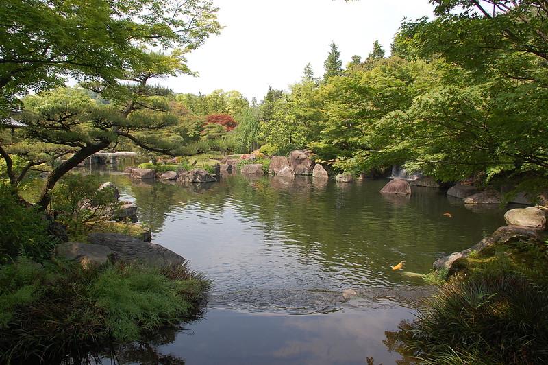 Koko-en garden in Himeji