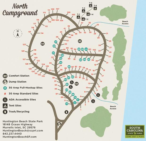 Huntington Beach State Park (North Campground)