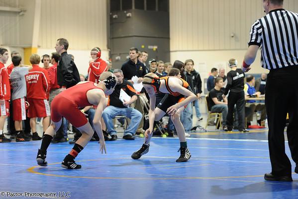 WGHS Wrestling at CVC Championships