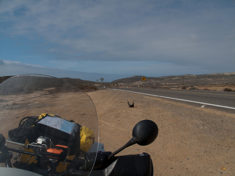 Road from Ensenada