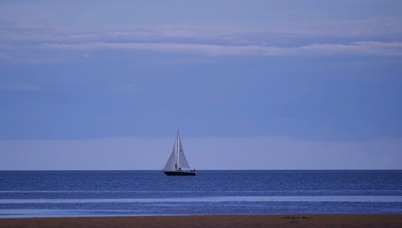 Evening Sail at Victoria Park, PEI