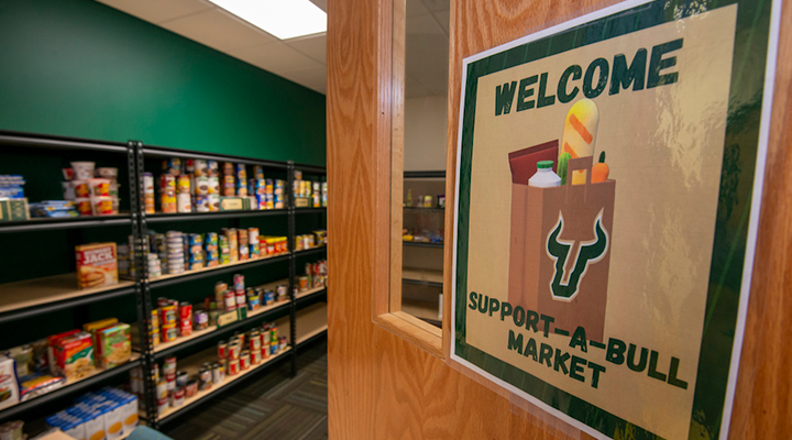 Support-A-Bull Market at USF St. Petersburg