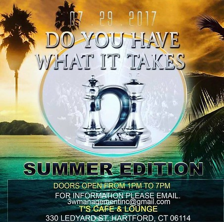 Do you have what it takes Hartford Ct 072917