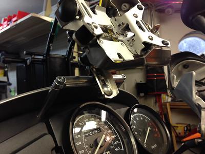 R-dubb GPS mount