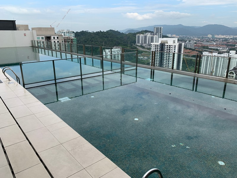 Swimming pool at Hyatt House KL