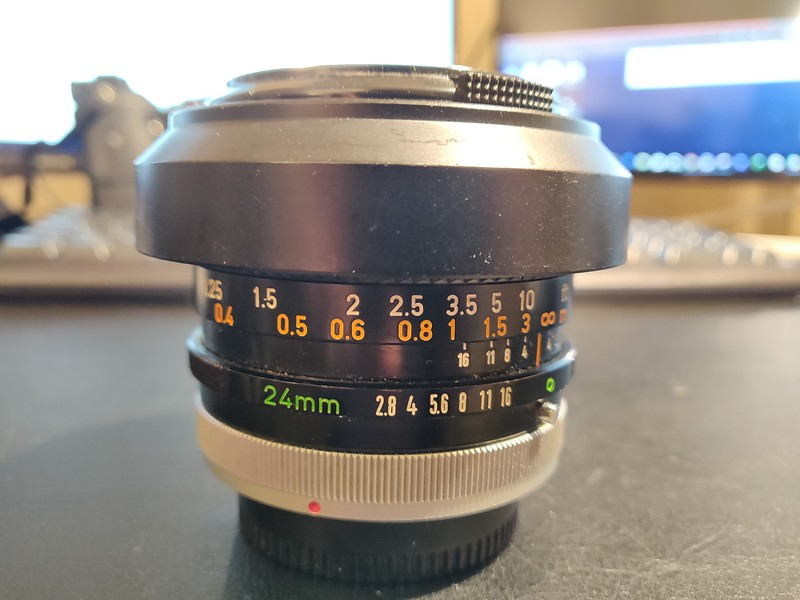 Canon FD 24 mm 2.8 S.S.C. - Serial N200 & 40368 001.jpg