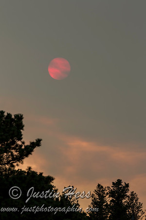 Fiery Red Sunset 07-27-2016
