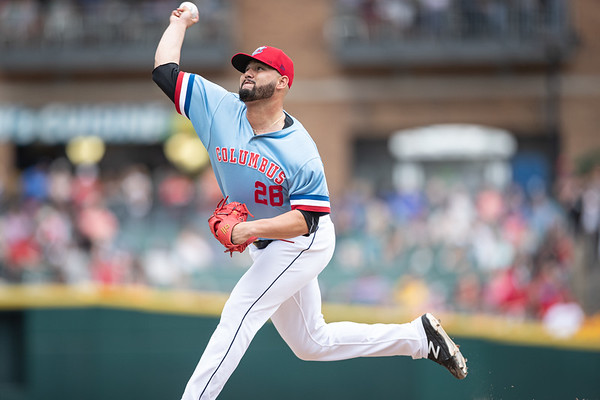 Argenis Angulo 2019 Columbus Clippers