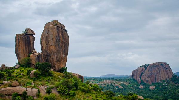 Mini Monument Valley in India
