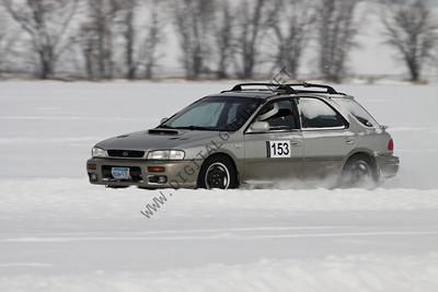 Ice Driving at Lake Cynthia Feb 2009
