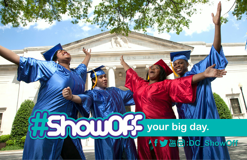 #ShowOff Your Big Day: Highlights the accomplishments of those teens who have stayed committed to academic excellence.