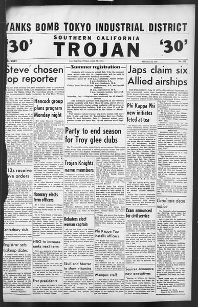 The Trojan, Vol. 35, No. 132, June 16, 1944