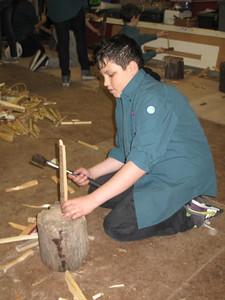 Thunder Chopping Wood