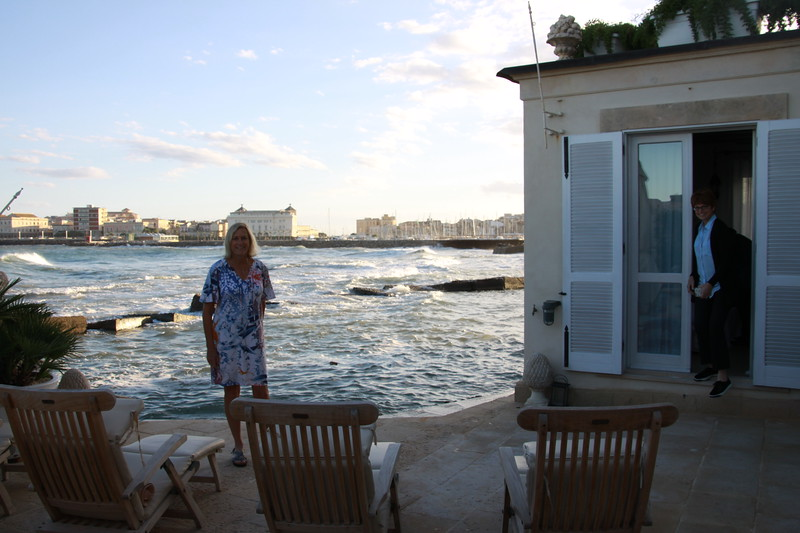 Our rooms at Musciara Hotel on Bay of Lakkios, Siracusa
