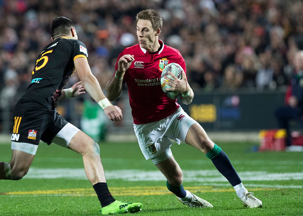 Liam Williams during game 6 of the British and Irish Lions 2017 Tour of New Zealand,The match between  The Chiefs and British and Irish Lions, FMG Stadium, Hamilton, Tuesday 20th June 2017 (Photo by Kevin Booth Steve Haag Sports)  Images for social media must have consent from Steve Haag