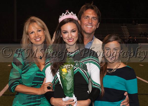 2012 Senior Night  Cheerleading & Dance