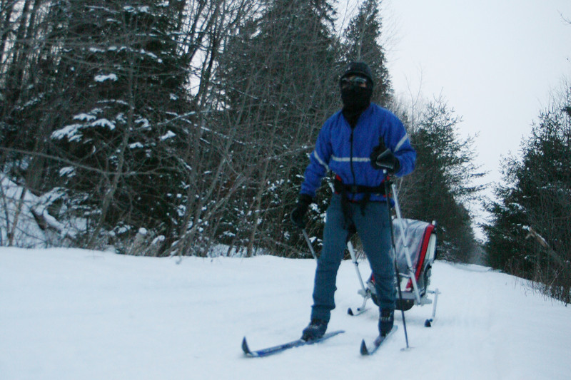 2010-Jan: Skiing in Orillia & Dofasco trail
