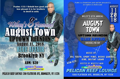 "WILEY 8th ANNUAL AUGUST TOWN / UPTOWN REUNION 2018""(20)"